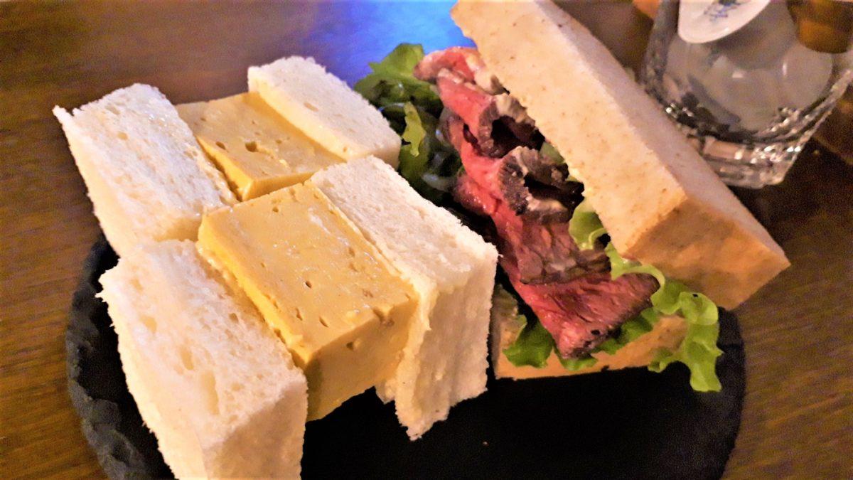 サンドイッチとコーヒー狸小路8丁目タヌハチガーデンのアノカフェ