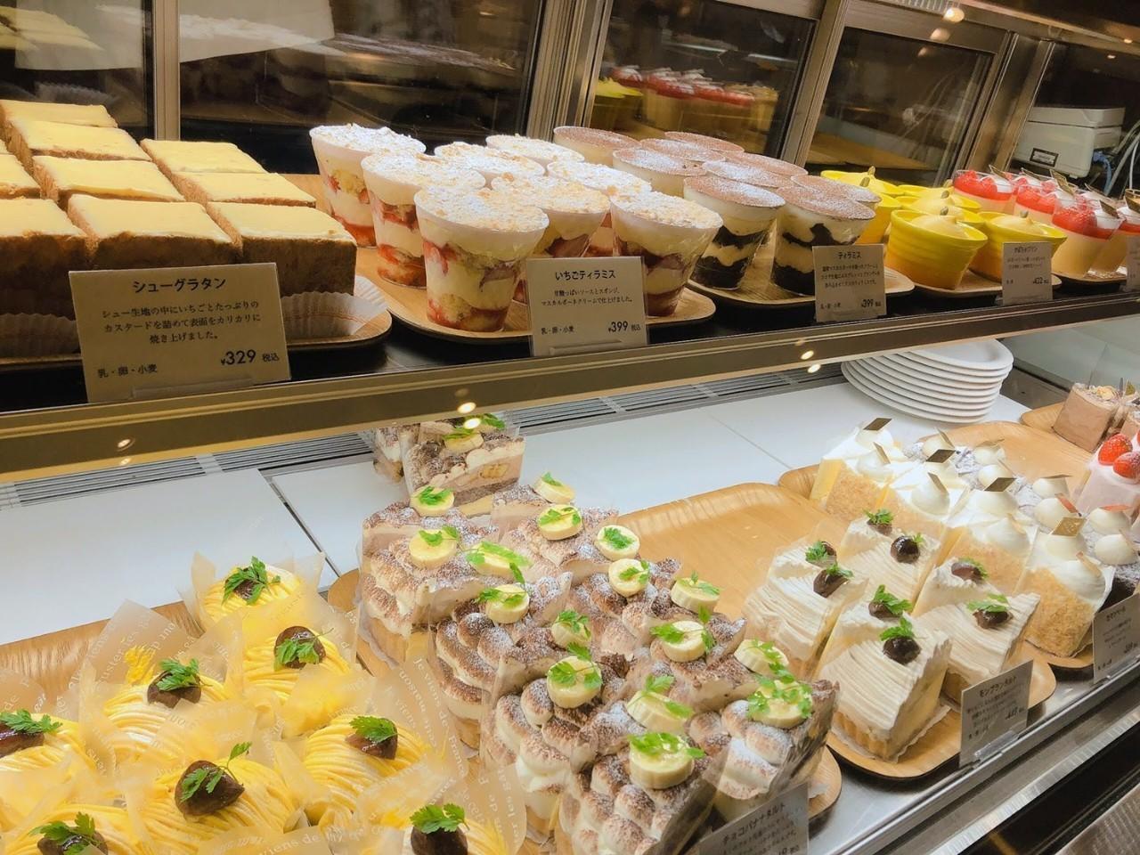 CAFÉ de ROMAN 藻岩店 ショーケース