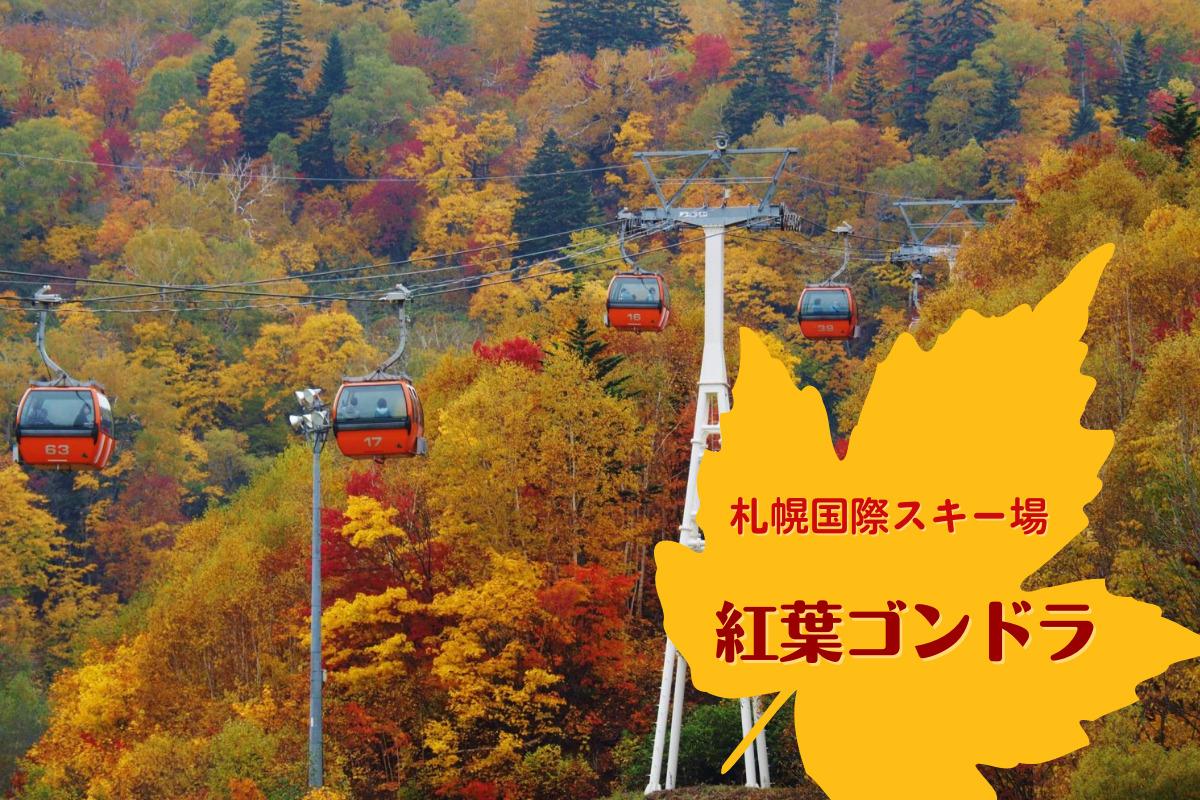 【9/25~10/17】今年も運行!『札幌国際スキー場の紅葉ゴンドラ2021』~紅葉の絨毯を空中散歩♪【2021】
